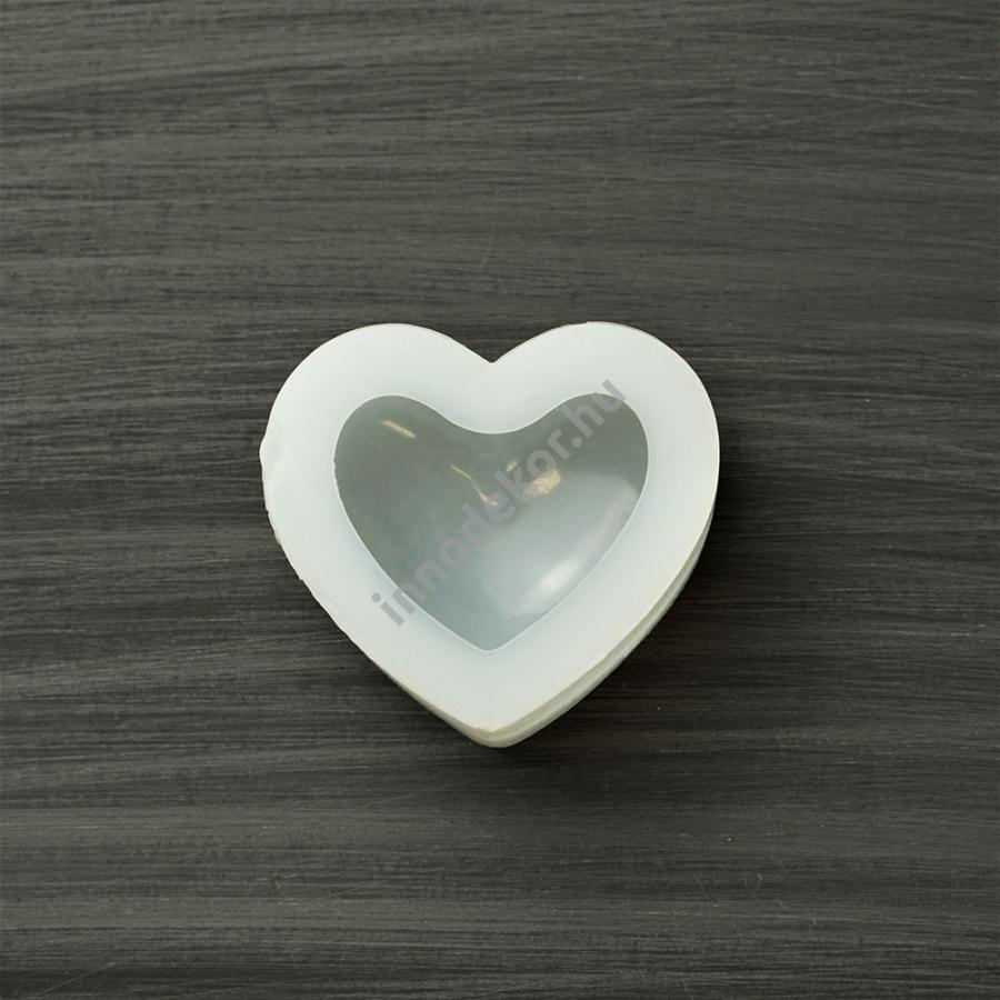 Öntőforma szilikonból - nagy szív