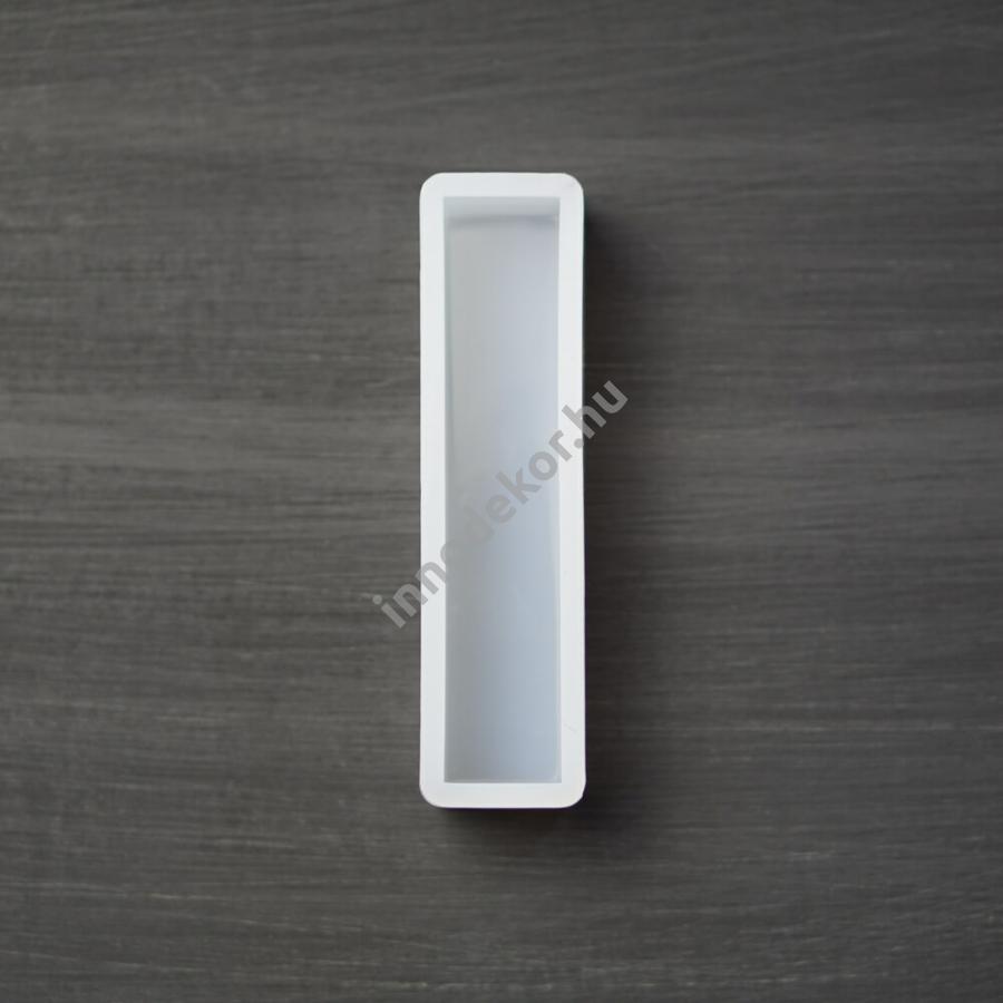 Öntőforma szilikonból - téglatest, 2x10 cm