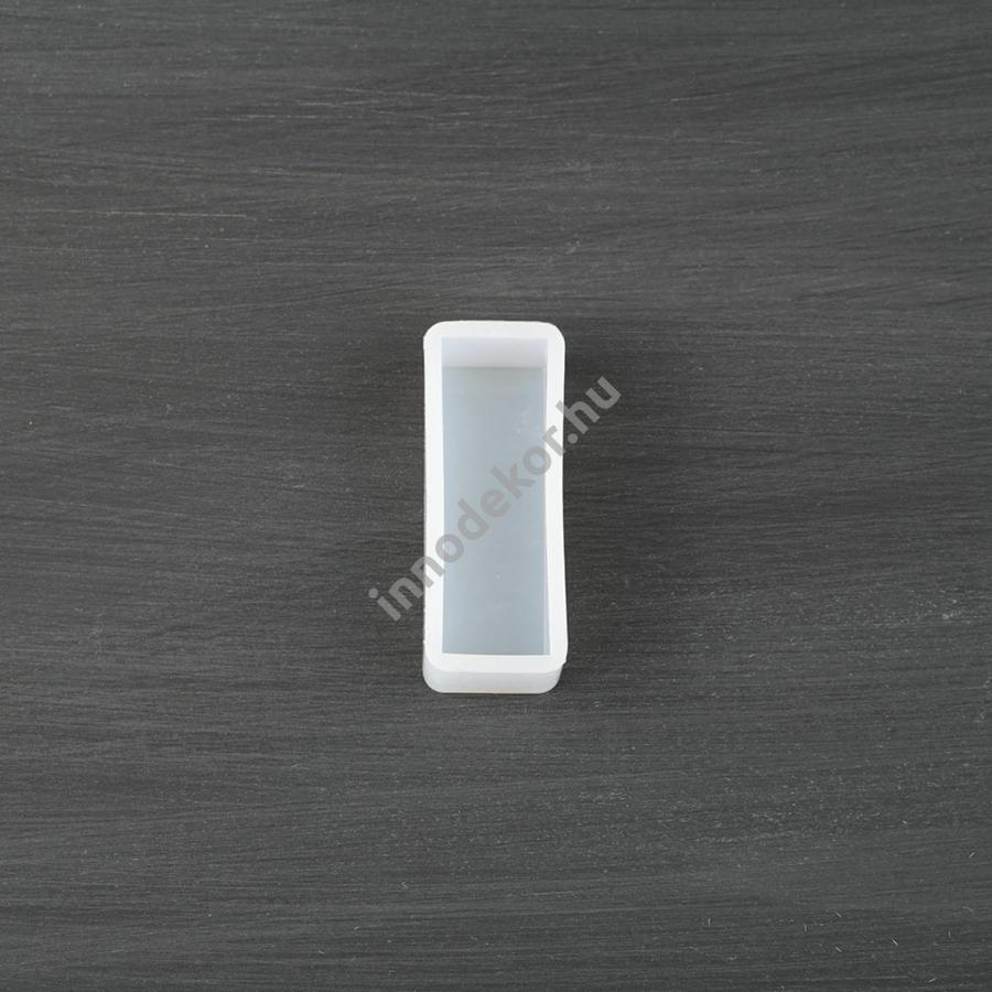 Öntőforma szilikonból - téglatest, 2x6 cm