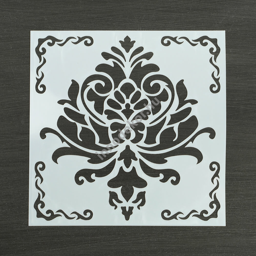 Festősablon (stencil) - Amélia, klasszikus minta