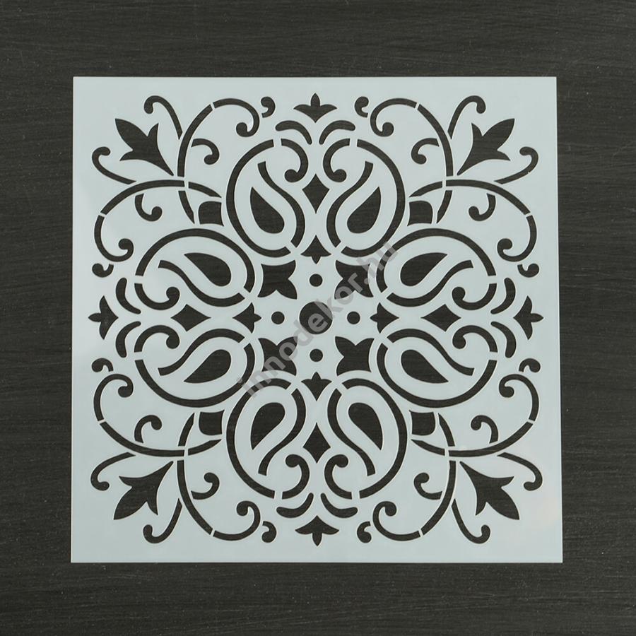 Festősablon (stencil) - Georgina, klasszikus minta