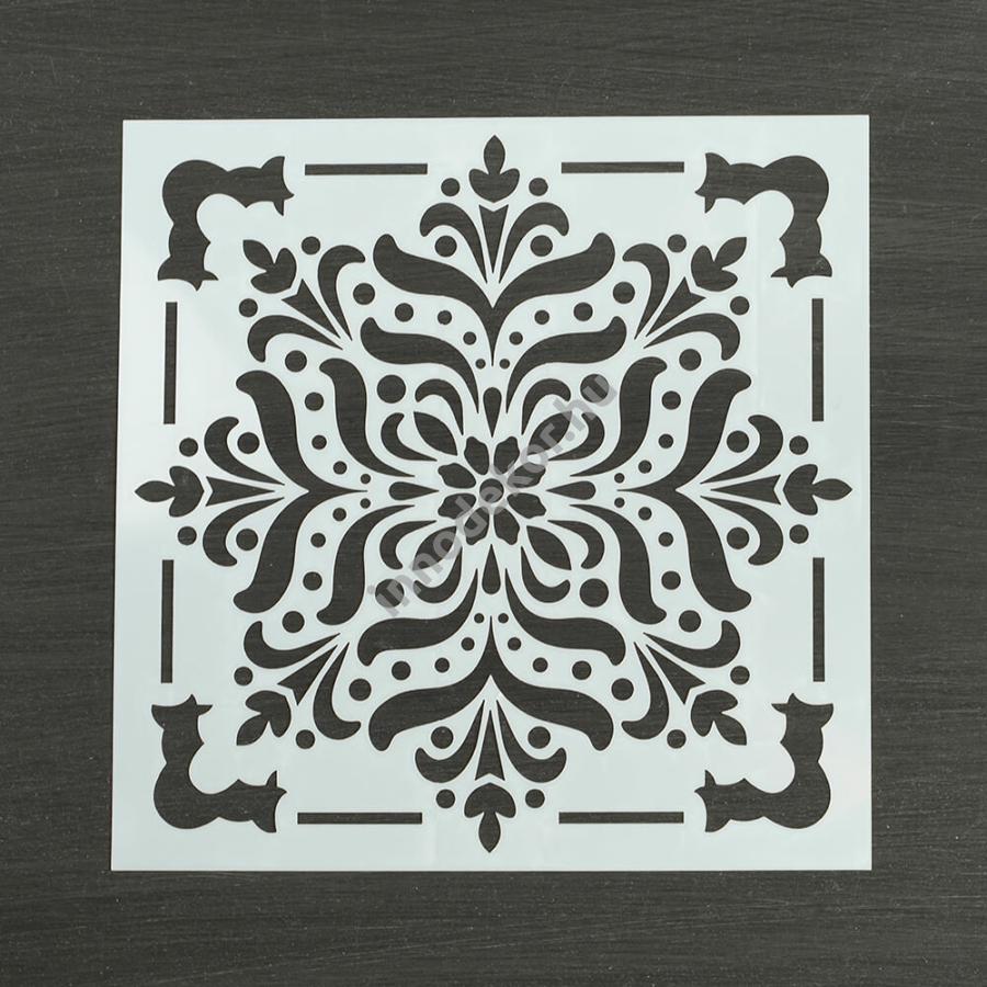 Festősablon (stencil) - Kíra, klasszikus minta