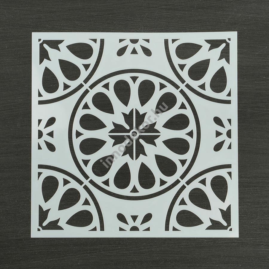Festősablon (stencil) - Léna, klasszikus minta