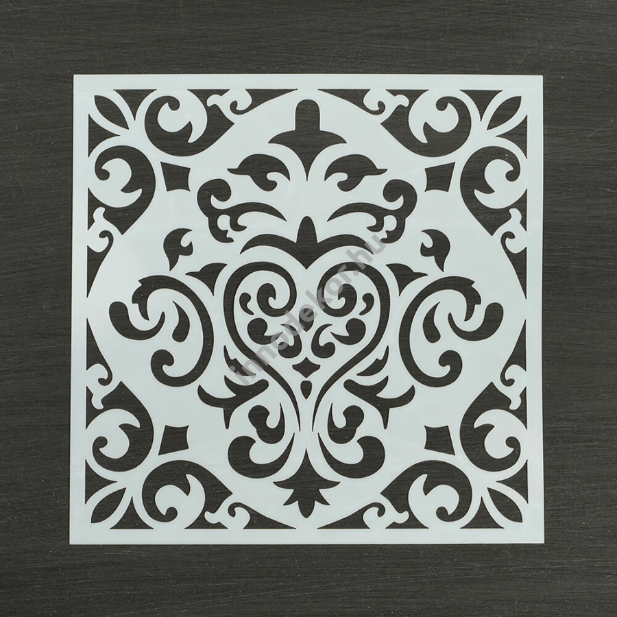 Festősablon (stencil) - Sarolta, klasszikus minta
