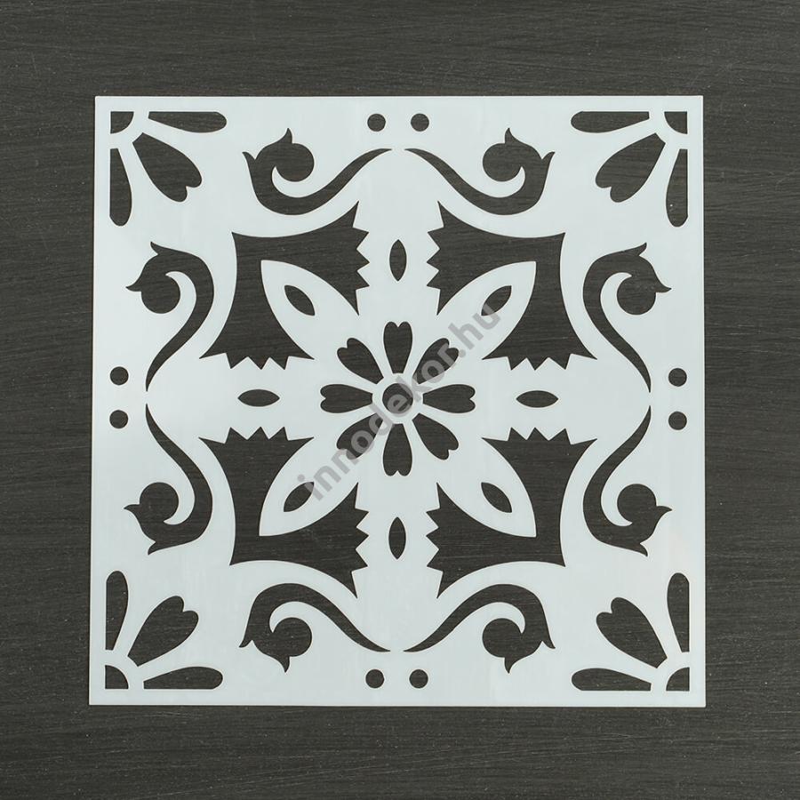 Festősablon (stencil) - Debóra, klasszikus minta