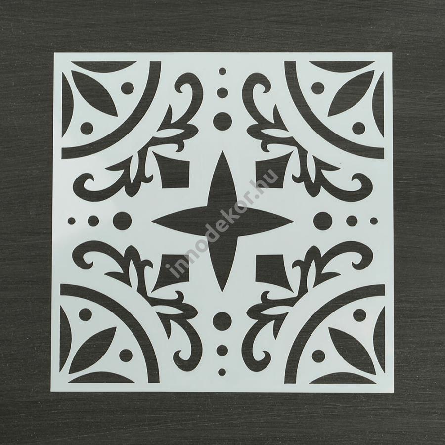 Festősablon (stencil) - Auróra, klasszikus minta