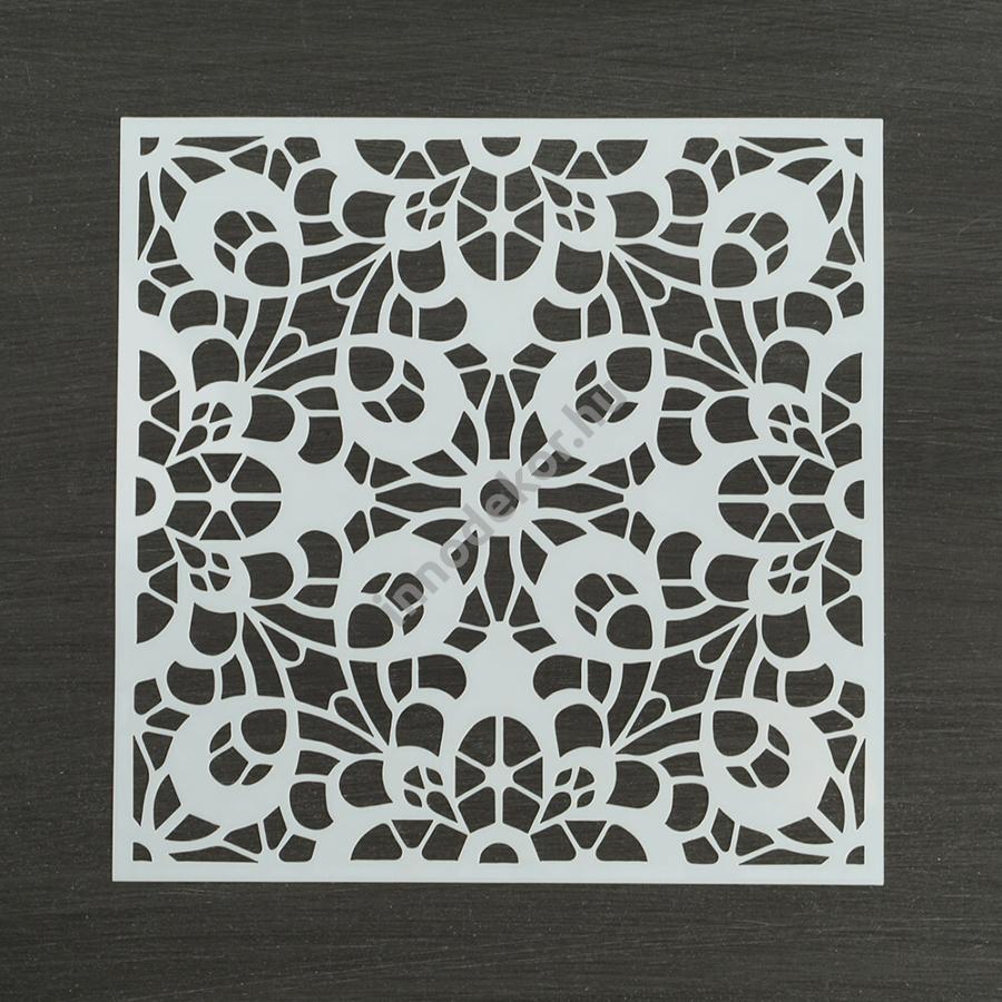 Festősablon (stencil) - Diána, klasszikus minta